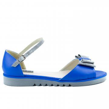 sandale flat, sandale talpa joasa, sandale piele, sandale piele naturala, sandale la comanda, sandale dama, sandale albastre