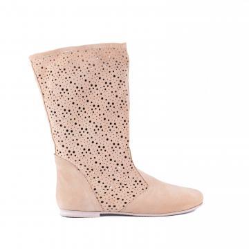 cizme de vara, cizme perforate, cizme primavara, cizme piele naturala, incaltaminte piele naturala dama, cizme bej, cizme piele, cizme de vara,