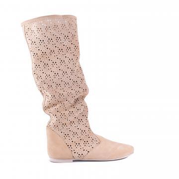 cizme de vara, cizme perforate, cizme primavara, cizme piele naturala, incaltaminte piele naturala dama