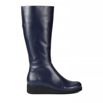 cizme piele, cizme piele naturala, cizme medii, cizme casual, cizme la comanda, cizme bleumarin, cizme din piele, cizme comode, incaltaminte piele naturala,