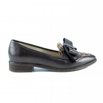 mocasini cu fundita, pantofi piele naturala, pantofi office, pantofi casual, pantofi cu fundita