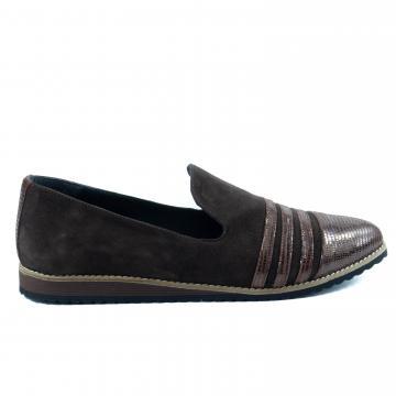 pantofi casual, pantofi casual maro, pantofi maro, pantofi usori, pantofi comozi, balerini maro, pantofi unicati, pantofi colorati, pantofi la comanda, atelier pantofi, pantofi dama, pantofi pe comanda