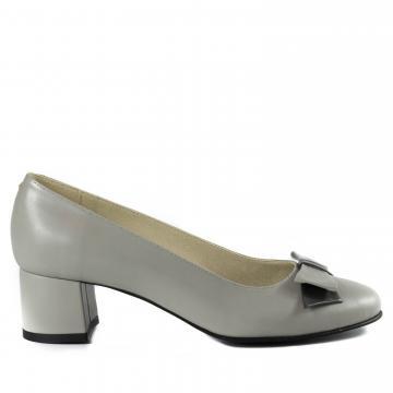 pantofi piele naturala, pantofi office, pantofi cu toc, pantofi cu funda