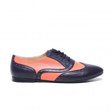 pantofi oxford, pantofi piele naturala, pantofi piele intoarsa, incaltaminte dama, incaltaminte oxford