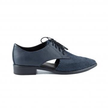 pantofi oxford, pantofi piele naturala, pantofi piele intoarsa, incaltaminte dama