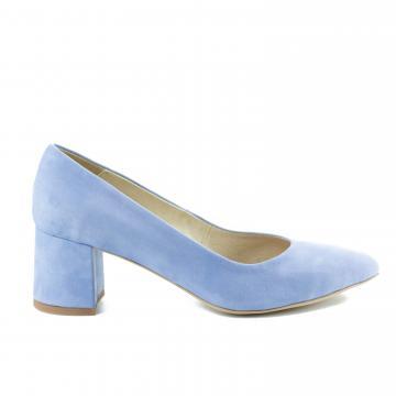 pantofi pumps piele naturala, incaltaminte piele naturala, incaltaminte dama, pantofi cu toc, pantofi bleu, pantofi cu toc bleu, pantofi baby blue, pantofi toc patrat, pantofi toc 6 cm, pantofi cu toc comod, pantofi bleu ciel, pantofi cu toc mediu