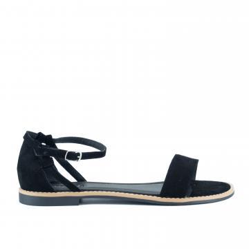 sandale flat, sandale talpa joasa, sandale piele, sandale piele naturala, sandale la comanda, sandale dama, sandale negre, sandale cu bareta, sandale inchise la spate,