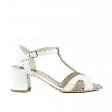 sandale cu toc mediu, sandale cu toc masiv, sandale din piele, sandale piele, sandale la comanda, sandale pe comanda, sandale comode, sandale crem,