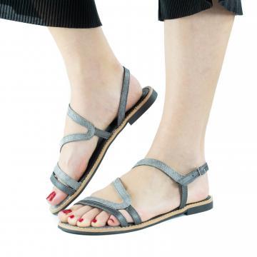 sandale flat, sandale talpa joasa, sandale piele, sandale piele naturala, sandale la comanda, sandale dama, sandale argintii, sandale gri,