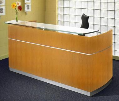 birou receptie calitate, mobilier receptie lemn