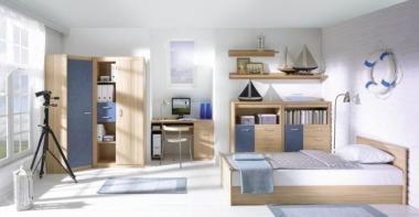 mobilier tineret modern, modele camere adolescenti