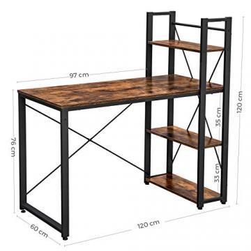 Birou metalic, birou modern, birou vintage, birou industrial
