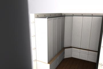 interior design, camera dressing model, proiect camera dressing Vila Baneasa