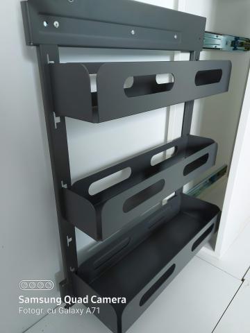 jolly de bucatarie cu 3 etaje, jolly 3 etaje detasabile, jolly pentru mobila cu 3 etaje mobile