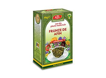 Afin, frunze, ceai la pungă