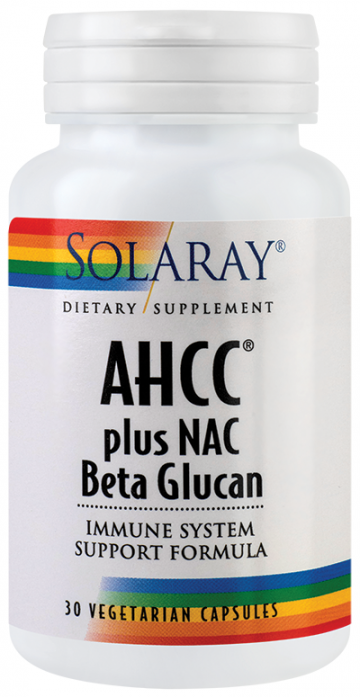 AHCC® plus NAC & Beta Glucan  30cps  Vegetale