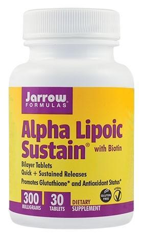 Alpha Lipoic Sustain® 300mg  30tb Vegetale