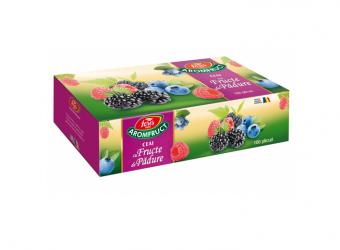 Aromfruct ceai cu fructe de pădure, 100 plicuri