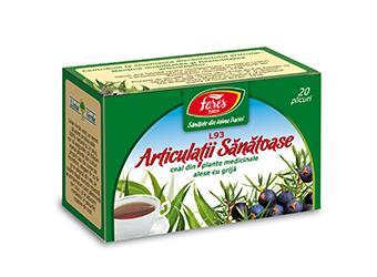 Articulații sănătoase, L93, ceai la plic