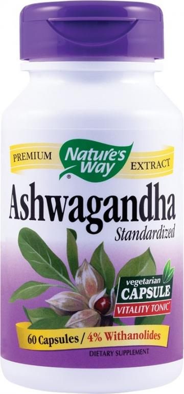 Ashwagandha SE 500mg 60 cps Vegetale