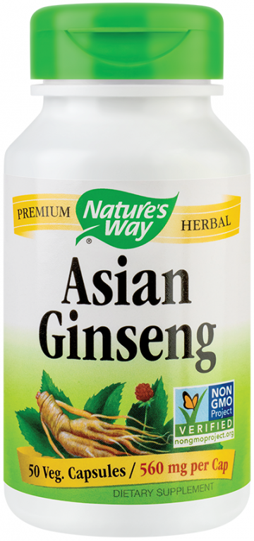 Asian Ginseng 560mg  50 cps