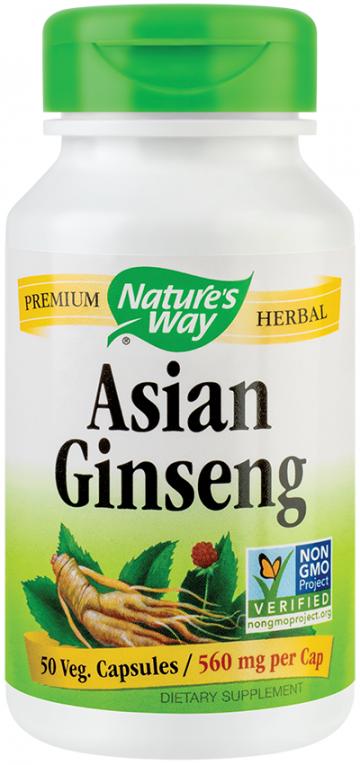 Asian Ginseng 560mg  50 cps