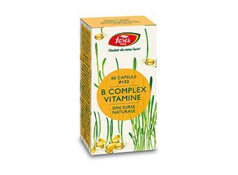 B complex vitamine naturale, F172, capsule