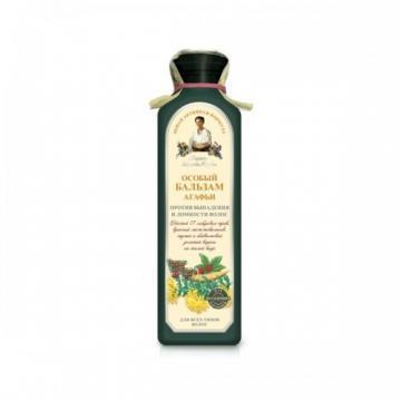 Balsam special pe baza de apa de gheata cu 17 plante siberiene impotriva caderii parului