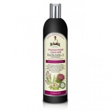 Balsam traditional siberian pe baza de propolis de brusture nr.3 - impotriva caderii parului
