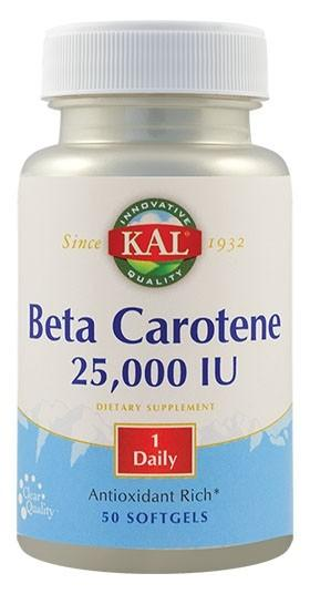 Beta Carotene 25000UI   50 cps