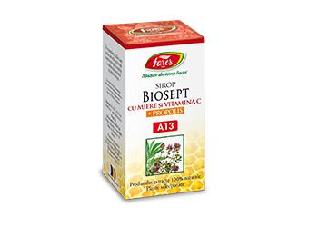Sirop Biosept cu Miere și Propolis A13  100 ml