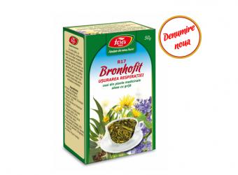 Ceai Bronhofit (usurarea respiratiei), R17  50 gr
