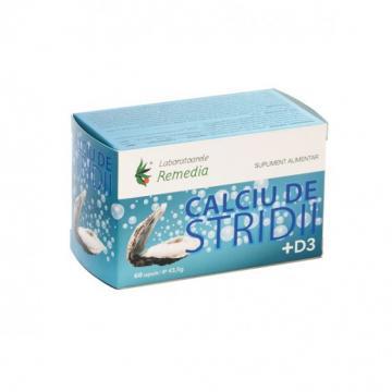 Calciu De Stridii + D3 60 cps