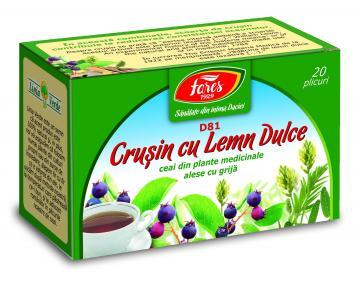 Ceai Crusin Cu Lemn Dulce 20 plicuri