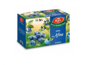 Ceai cu afine, la plic