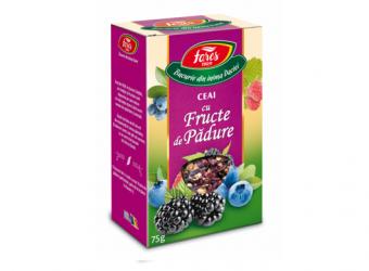 Ceai cu fructe de pădure, la pungă