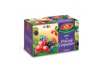Ceai cu fructele Carpaților, la plic
