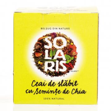 Ceai de slabit cu seminte de chia Solaris