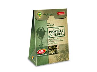 Ceaiul V – ceai pentru prostată și vezică, G75, ceai la pungă (rețetă originală Andrei Farago)