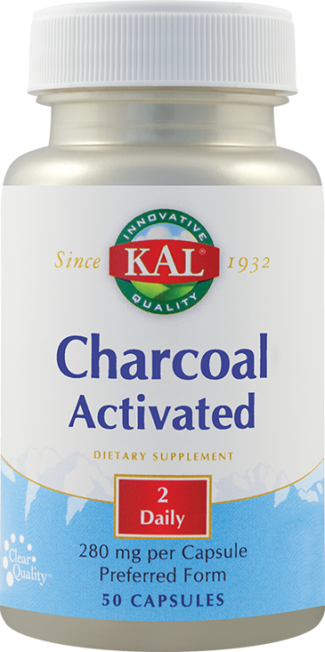 Charcoal Activated (Carbune medicinal) 280mg
