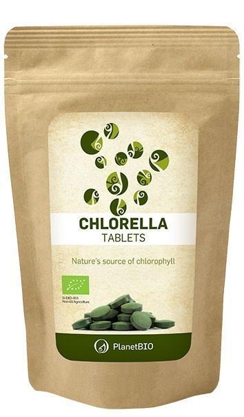 Chlorella  100% Organica 180tb