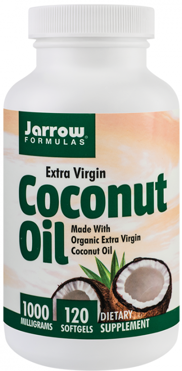 Coconut Oil Extra Virgin 1000mg  120 cps