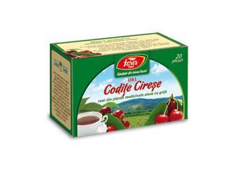 Codițe de cireșe, U81, ceai la plic