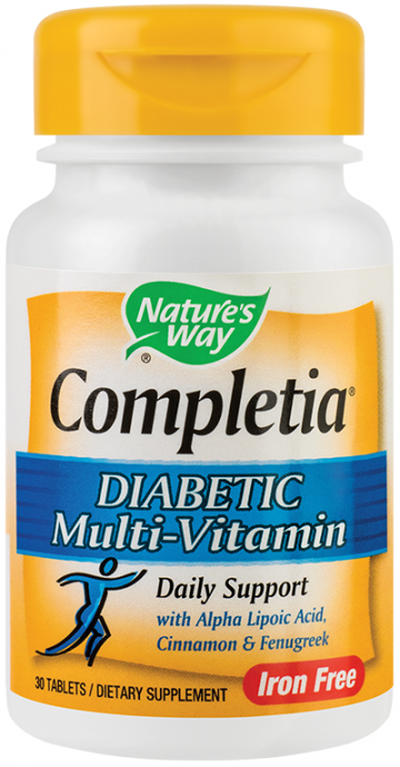 Completia® Diabetic Multi-Vitamin 30tb