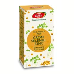 Crom Seleniu Zinc, F176, 30cps