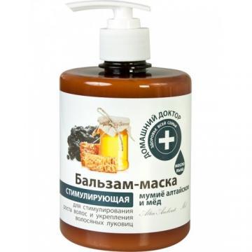 DOCTORUL CASEI Balsam-masca pentru intarirea si cresterea parului cu extracte de mumie si miere