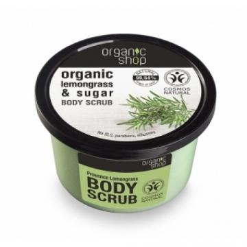 Exfoliant corporal cu zahar si ulei de lemongrass Provancal Lemongrass