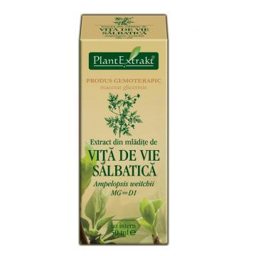 Extract Din Mlădiţe De Vita De Vie Salbatica 50 ml