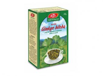 Ginkgo biloba, N155, frunze, ceai la pungă