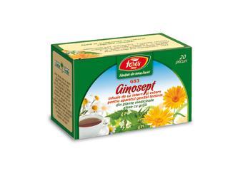 Ginosept, G83, ceai la plic